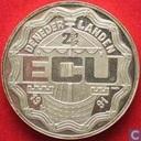 """Nederland 2½ ecu 1991 """"Erasmus"""" (zilver)"""