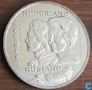 "Penningen / medailles - ECU penningen - Nederland 2½ ecu ""300 jaar Nederland-Rusland"""