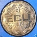 """Penningen / medailles - ECU penningen - Nederland 2½ Ecu 1990 """"Geert Groote"""""""