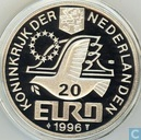 """Penningen / medailles - Fantasie munten - Nederland 20 Euro 1996 """"Willem Barentsz"""""""