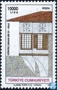 Postage Stamps - Turkey - Traditional houses