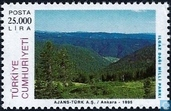 Postzegels - Turkije - Europees Natuurbeschermingsjaar