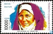 Postzegels - Turkije - Europa – Beroemde vrouwen