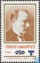 Postage Stamps - Turkey - Kemal Atatürk, with imprint