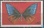 Postage Stamps - Equatorial Guinea - Butterflies