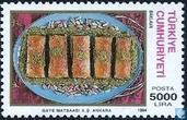 Timbres-poste - Turquie - Plats turcs