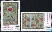 Postzegels - Turkije - Handwerksnijverheid