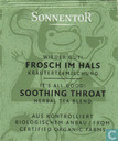 4 Wieder Gut ! FROSCH IM HALS Kräuterteemischung | It's All Good !  SOOTHING THROAT Herbal Tea Blend
