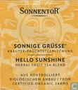 1 SONNIGE GRÜßE ® Kräuter-Früchteteemischung | HELLO SUNSHINE Herbal Fruit Tea Blend