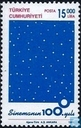 Postzegels - Turkije - 100 jaar cinema