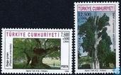 Postage Stamps - Turkey - Monumental trees