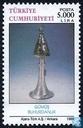 Postzegels - Turkije - Historische kunstschatten