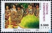 Briefmarken - Türkei - Einigermaßen