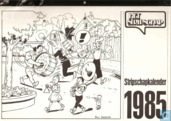 Stripschapkalender 1985