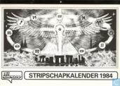 Stripschapkalender 1984