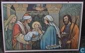 Jezus in de tempel als baby