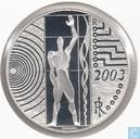 "Italië 5 euro 2003 (PROOF) ""Work in Europe"""