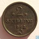 Norway 2 skilling 1843