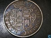 Nijmeegse zilveren klapmuts 1 florijn 28 stuiver 1685
