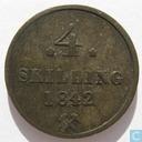 Norway 4 skilling 1842