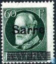 Timbres-poste - Sarre (1920-1935) - Mentions légales Sarre sur timbres Bavière