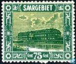 Timbres-poste - Sarre (1920-1935) - Faïencerie à Mettlach