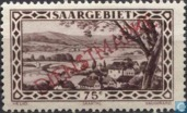 Briefmarken - Saargebiet - Saartal