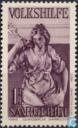 Timbres-poste - Sarre (1920-1935) - Statue de « Paix »