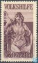 Timbres-poste - Sarre (1920-1935) - Aident les gens paix avec empreinte VOLKSABSTIMMUNG 1935