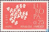 Timbres-poste - France [FRA] - Europa – Pigeons en vol