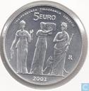 """San Marino 5 euro 2003 """"1700 years Republic of San Marino"""""""