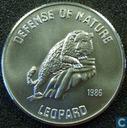 """Afghanistan 500 afghanis 1986 (PROOF) """"Luipaard"""""""