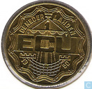 "Penningen / medailles - ECU penningen - Nederland 1 ecu 1990 ""Zutphen"""