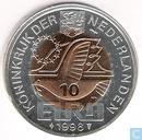 "Penningen / medailles - Fantasie munten - Nederland 10 euro 1998 ""Maarten Harpertz Tromp"""