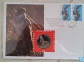 """Nederland ecubrief 1995 """"8- Nederlandse Roofvogels"""""""