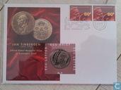 """Nederland ecubrief 1995 """"9 - Jan Tinbergen 1903-1994"""""""