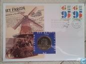 """Nederland ecubrief 1995 """"5 - 50 jaar bevrijding"""""""