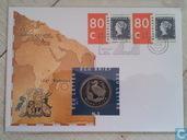 """Nederland ecubrief 1995 """"3 - Mauritius 1847"""""""