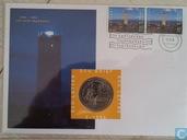 """Nederland ecubrief 1994 """"2 - 400 jaar Brandaris"""""""