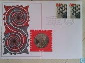 """Nederland ecubrief 1998 """"31 - M.C. Escher"""""""