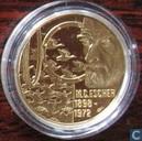 """Penningen / medailles - Fantasie munten - Nederland 100 euro 1998 """"M.C. Escher"""""""