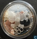 """Rusland 10 roebel 1977 (SP - PROOF) """"Olympic Games 1980 -- Map of USSR"""""""
