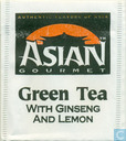 Green Tea with Ginseng and Lemon