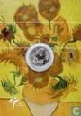 "Nederland 5 euro 2003 (PROOFLIKE - folder) ""150th anniversary Birth of Vincent van Gogh"""