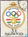 Postzegels - Hongarije - Olympische Spelen