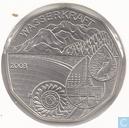 "Oostenrijk 5 euro 2003 (Special Unc) ""Waterpower"""