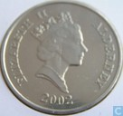 "Alderney 5 pounds 2002 ""50th anniversary Accession of Queen Elizabeth II"""