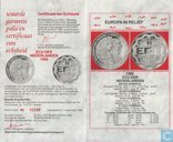 """Penningen / medailles - ECU penningen - Nederland 25 ecu 1989 """"Christiaan & Constantijn Huygens"""""""