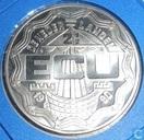 """Penningen / medailles - ECU penningen - Nederland 2½ Ecu 1990 """"Noordoostpolder"""""""