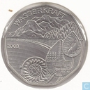 "Oostenrijk 5 euro 2003 ""Wasserkraft"""